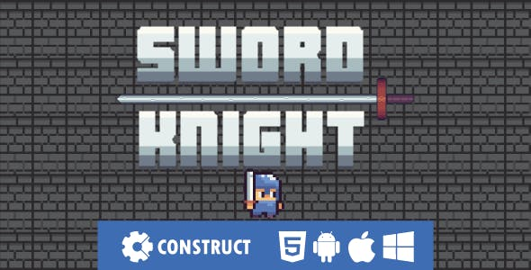 Sword Knight - HTML5 Mobile Game