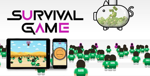 Survival Game - HTML5 Game