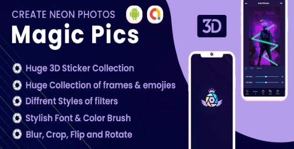 Magic Pics Photo Editor (Android 11 Supported)