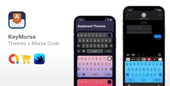KeyMorse - Custom Keyboard Themes + Secret Encoded Messaging