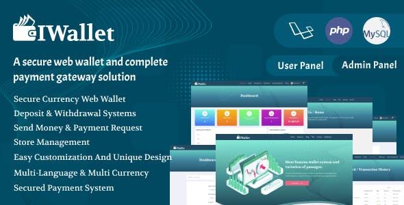Iwallet - A Complete Payment Gateway Solution Script