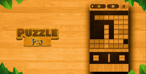 Puzzle Wood Block Slide Game Android &Ios Unity 3d