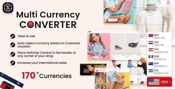MyShopKit Multi Currency Converter