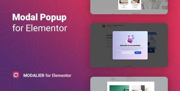 Modal Popup Window for Elementor – Modalier