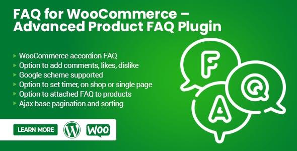 FAQ for WooCommerce – Advanced Product FAQ Plugin