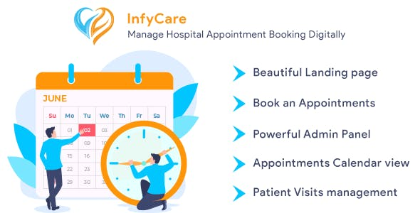 InfyCare - Laravel Clinic Appointment Booking Management