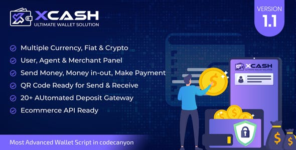 Xcash - Ultimate Wallet Solution