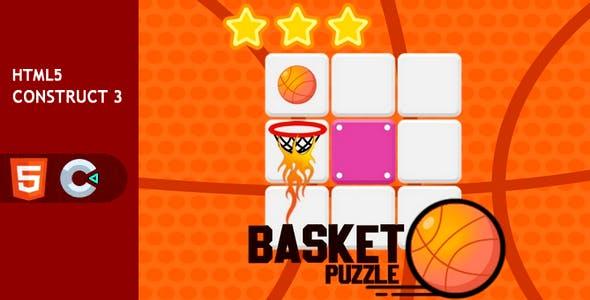 Basket Puzzle - HTML5 Game (Construct3 C3p)