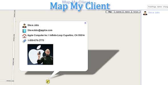 Map My Client - CodeCanyon Item for Sale