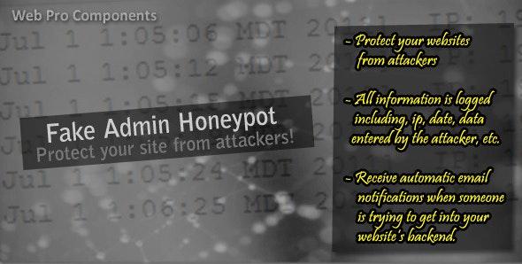 Fake Admin Honeypot - CodeCanyon Item for Sale