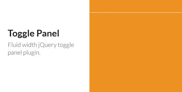 Toggle Panel