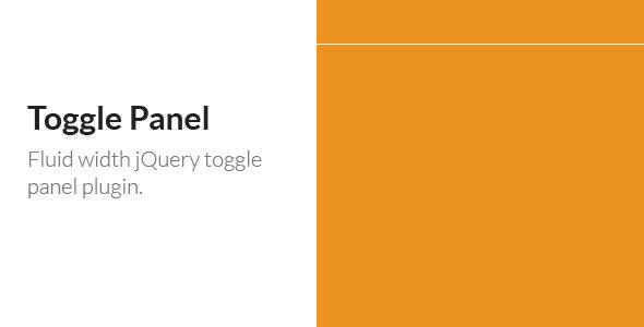 Toggle Panel - CodeCanyon Item for Sale