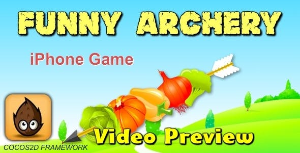 Funny Archery  Game -Cocos2D