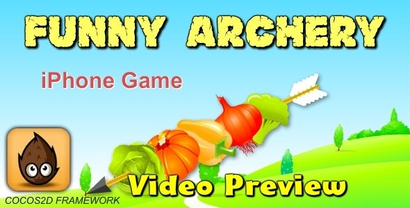 Funny Archery  Game -Cocos2D - CodeCanyon Item for Sale