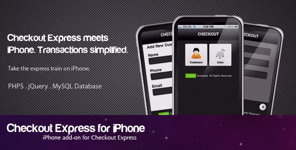 Checkout Express for iPhone