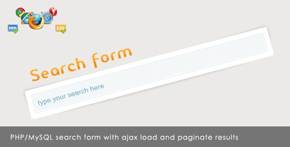 Ajax search form        Nulled