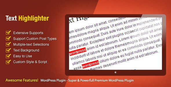 Text Highlighter - CodeCanyon Item for Sale