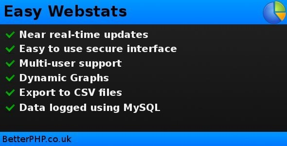 Easy Webstats - CodeCanyon Item for Sale