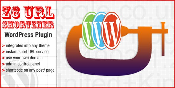 The Z6 URL shortener WordPress plugin