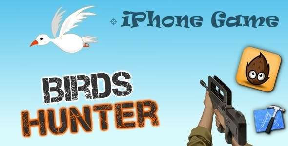 iPhone : Birds Hunter Game - Cocos2D