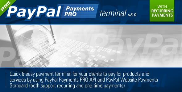 PayPal PRO Payment Terminal