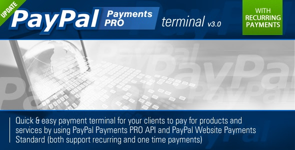 PayPal PRO Payment Terminal by CriticalGears | CodeCanyon