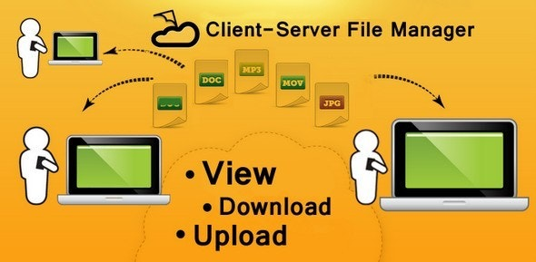 Client-Server File manager for Windows by HD_Nickolay
