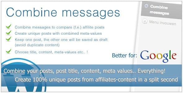 Combine messages