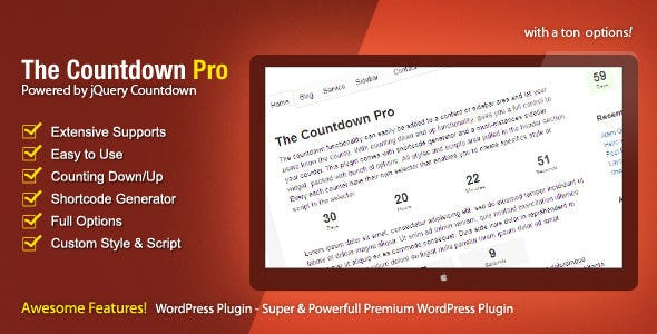 The Countdown Pro        Nulled