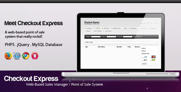 Checkout Express Point of Sale System