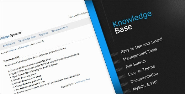 Knowledge Base - CodeCanyon Item for Sale