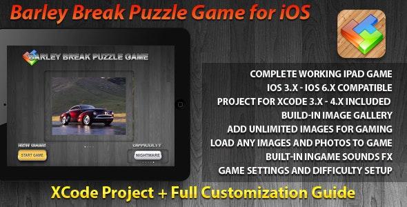 BarleyBreak Puzzle Game for iPad - CodeCanyon Item for Sale
