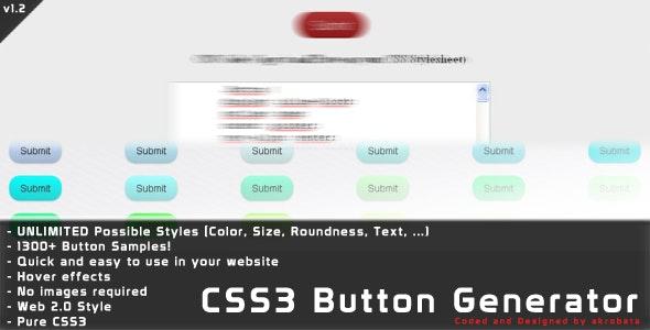 CSS3 Button Generator by akrobata | CodeCanyon