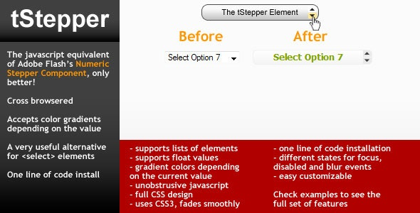 Form Stepper element - tStepper - CodeCanyon Item for Sale