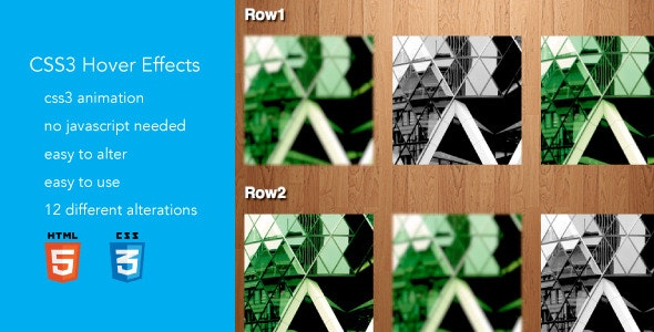 Hover Effects - CodeCanyon Item for Sale