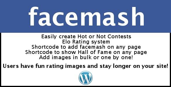 Facemash for Wordpress