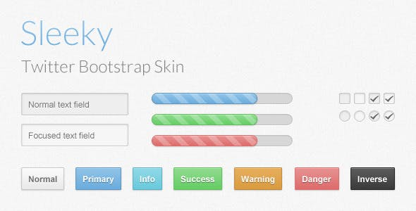 Sleeky - Bootstrap Skin