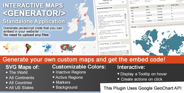 Interactive Maps Generator        Nulled