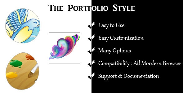 The Portfolio Style - CodeCanyon Item for Sale