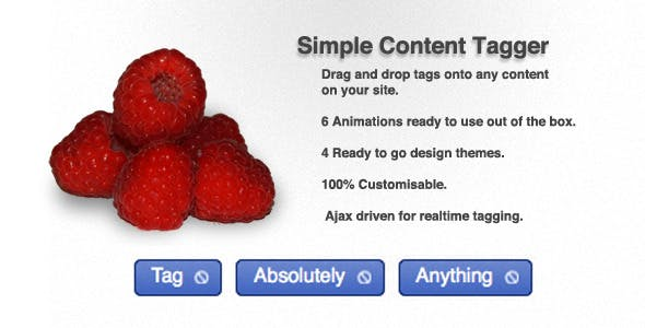 Simple Content Tagger