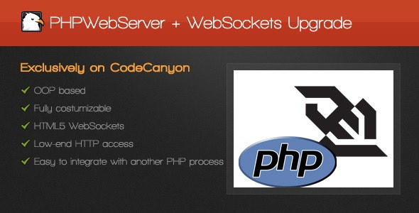 PHPWebServer with WebSockets Upgrade - CodeCanyon Item for Sale