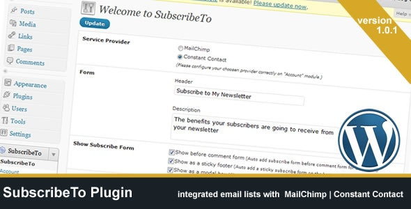 SubscribeTo Plugin - CodeCanyon Item for Sale