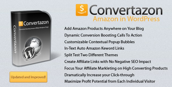 Convertazon - Amazon in WordPress - CodeCanyon Item for Sale