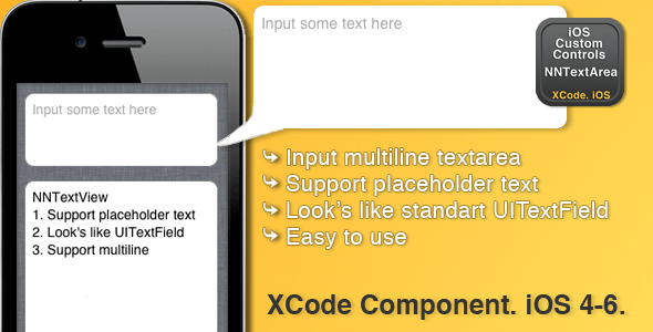 NNTextView with placeholder - CodeCanyon Item for Sale