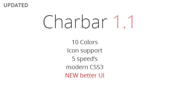 CharBar - Sidebar Navigation