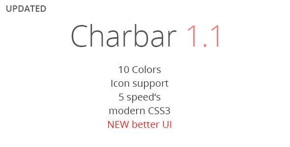 CharBar - Sidebar Navigation - CodeCanyon Item for Sale