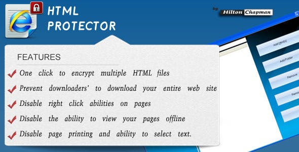 Smart HTML Protector