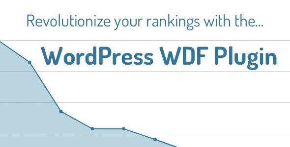 WordPress WDF Plugin - CodeCanyon Item for Sale