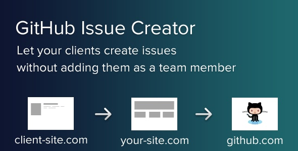 GitHub Issue Creator - CodeCanyon Item for Sale