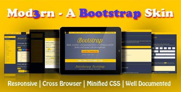 Mod3rn - A Bootstrap Skin